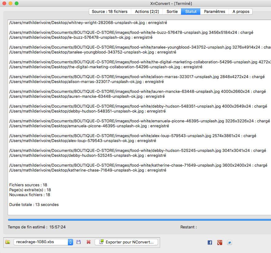 3 outils pour optimiser vos images en 3 minutes : xnconvert, conversion