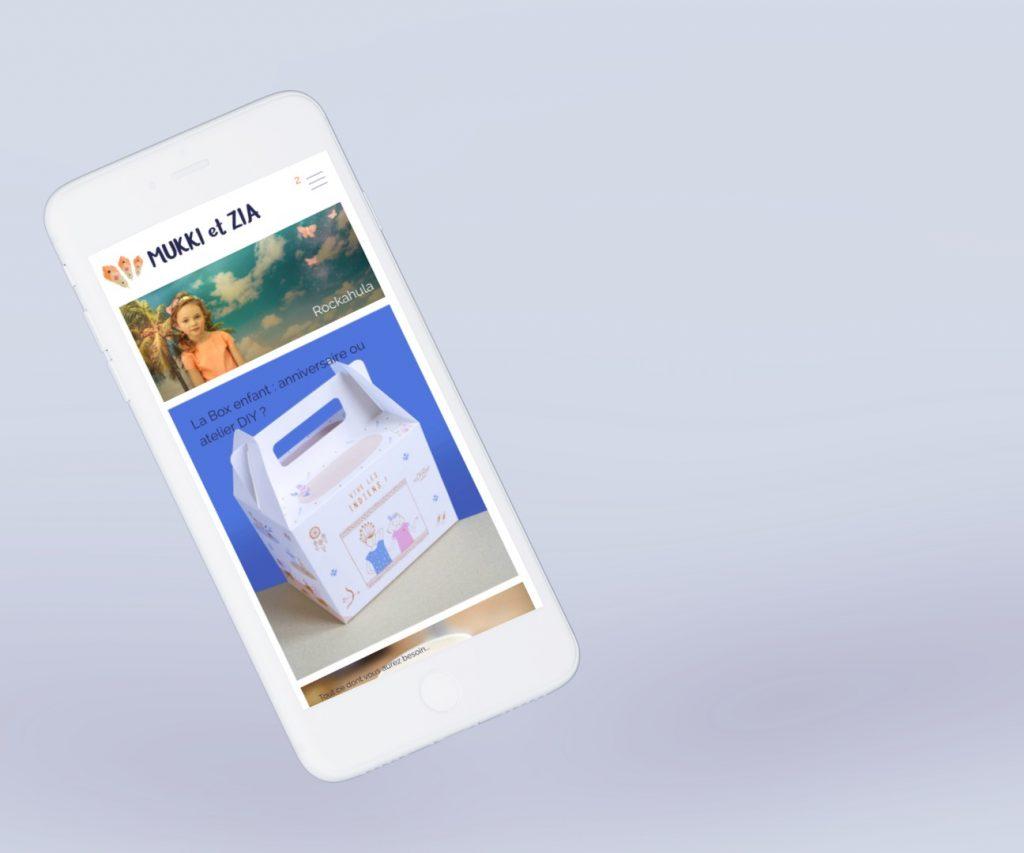 Création d'un site e-commerce, iphone