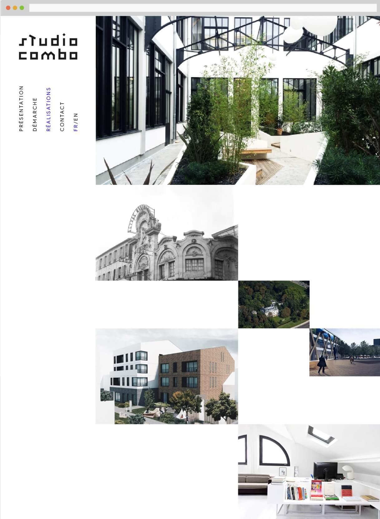 logo et webdesign : page accueil