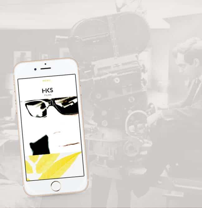 Port-folio vidéo : mobile