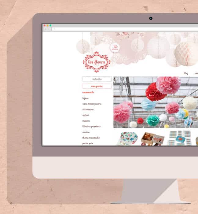 Vente en ligne Les fleurs