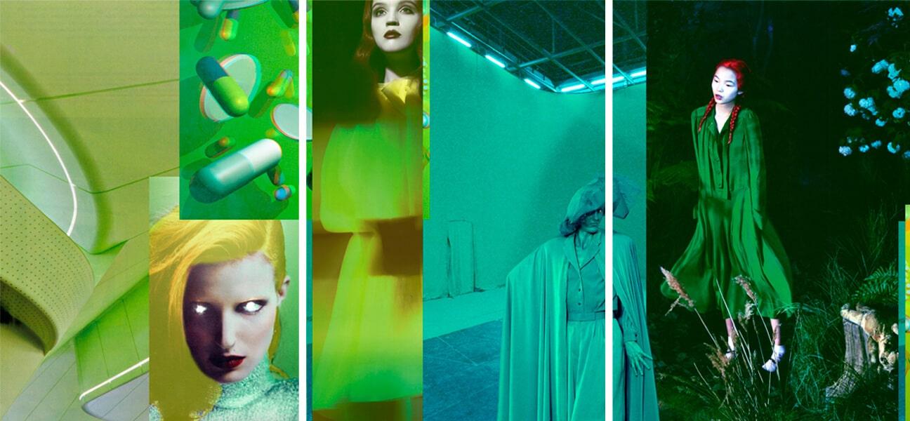 Tendances couleur : vert