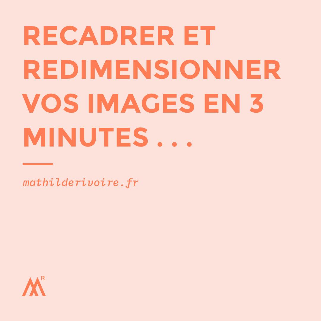Optimiser vos images pour le web